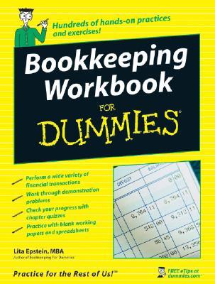 Bookkeeping Workbook for Dummies By Epstein, Lita